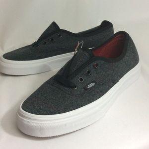 NWT Vans Authentic Tweed Unisex Sneakers